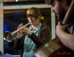 Laura Jurd, trumpet and Huw Williams, bass