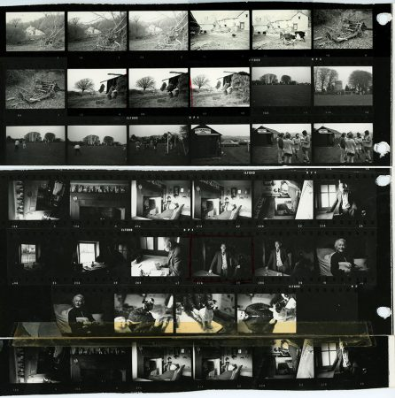 James Ravilious Contact Sheet